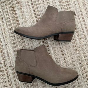 Call it Spring Suede Booties